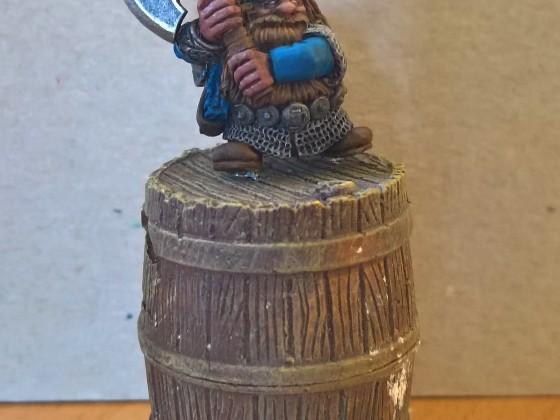 Dwarf ranger and beer