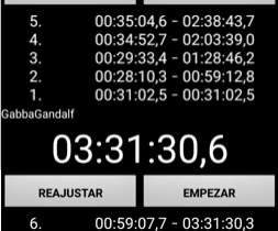4CR9 R1 - Timing