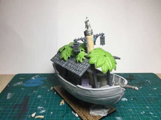 Conquistador Steam Boat