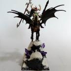 Warlock Outcast on Blackmane Pegasus - Sorcière Réprouvée sur Pégase à crin noir