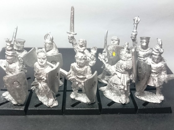 Knights Forlorn using Wargames Foundry Models - WIP