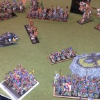 Random battle scenes from the armies of Greentide