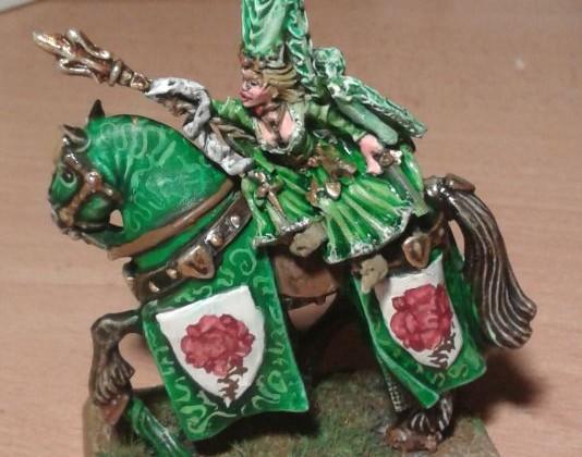 Damsel on horse 2