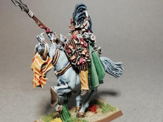 Forest prince on elven steed