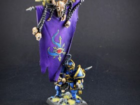 Harbinger of Chaos with Battle Standard