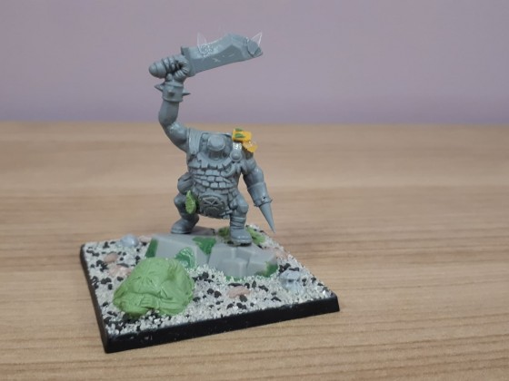 Unit filer orc ready for painting