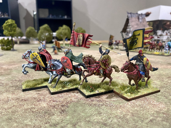11century Spanish Knights by Caballero Miniatures