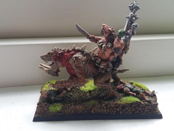 Tyrant/cheif on Monstrous Rat