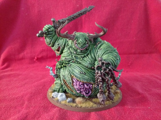 Daemon Legions Father of Pestilence completed model