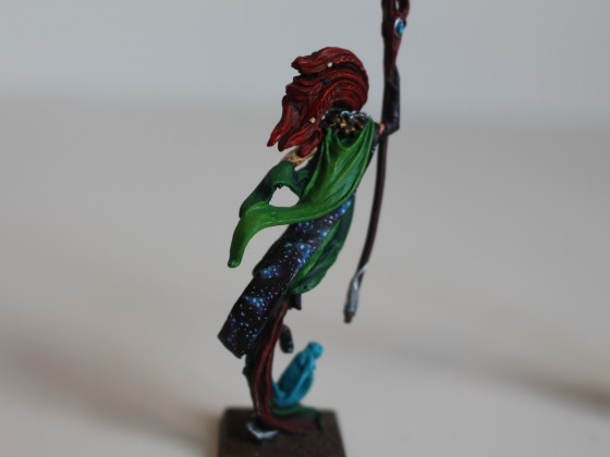 Cloak detail of my Cosmology druid
