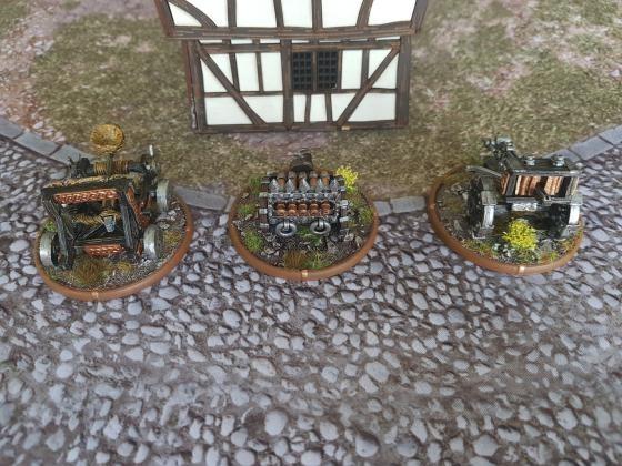 Dwarven Artillery