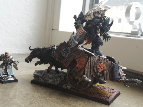Orc Warboss on Chariot 2