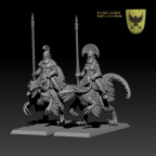 Raptor Knights from Caballero Miniaures