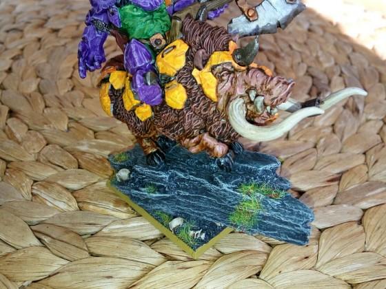 Orc Warlord On War Boar