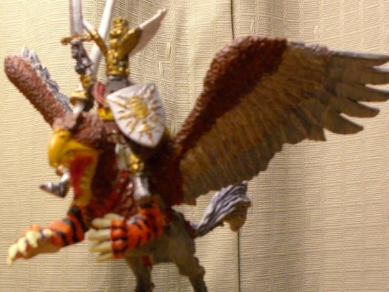 Empire King on Battle Gryphon