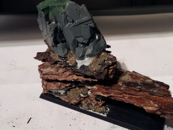 Pine bark basing tutorial