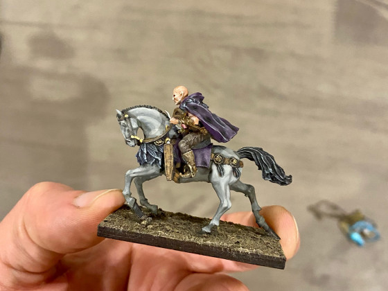 Warlock Acolyte from Caballero Miniatures