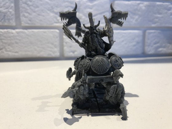 Seekers King on War Throne