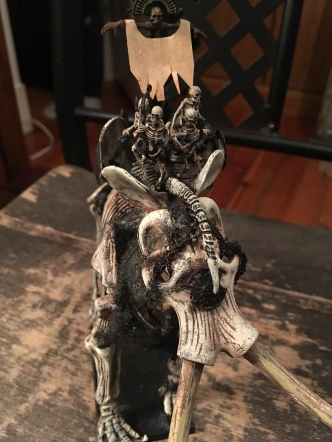 Battle sphinx /undead mammoth.