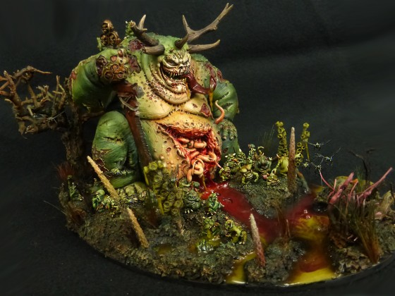 "Plague Deamon ""Papa Infectus"""
