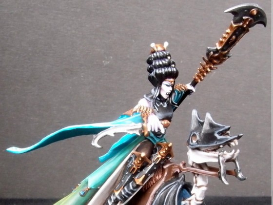 Lamia Vampire mounted on Skeletal Steed