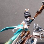 Lamia Vampire mounted on Skeletal Steed