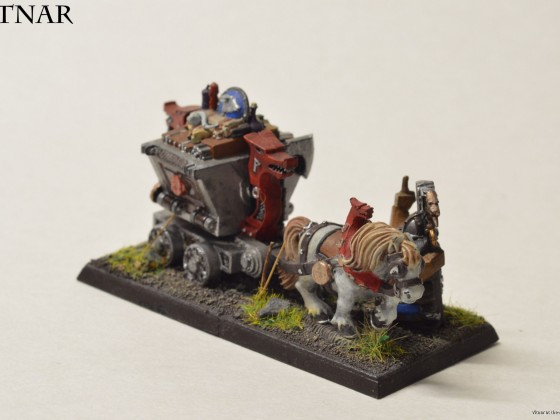 Miner's cart from the Battle of the Skullpas, now a unit filler