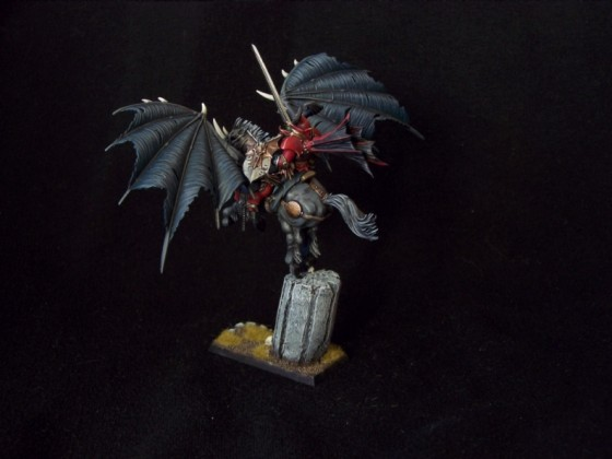 Vampire Lord on Winged Nightmare