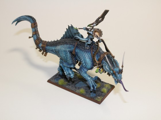Games Workshop Troglodon as Stygiosaur