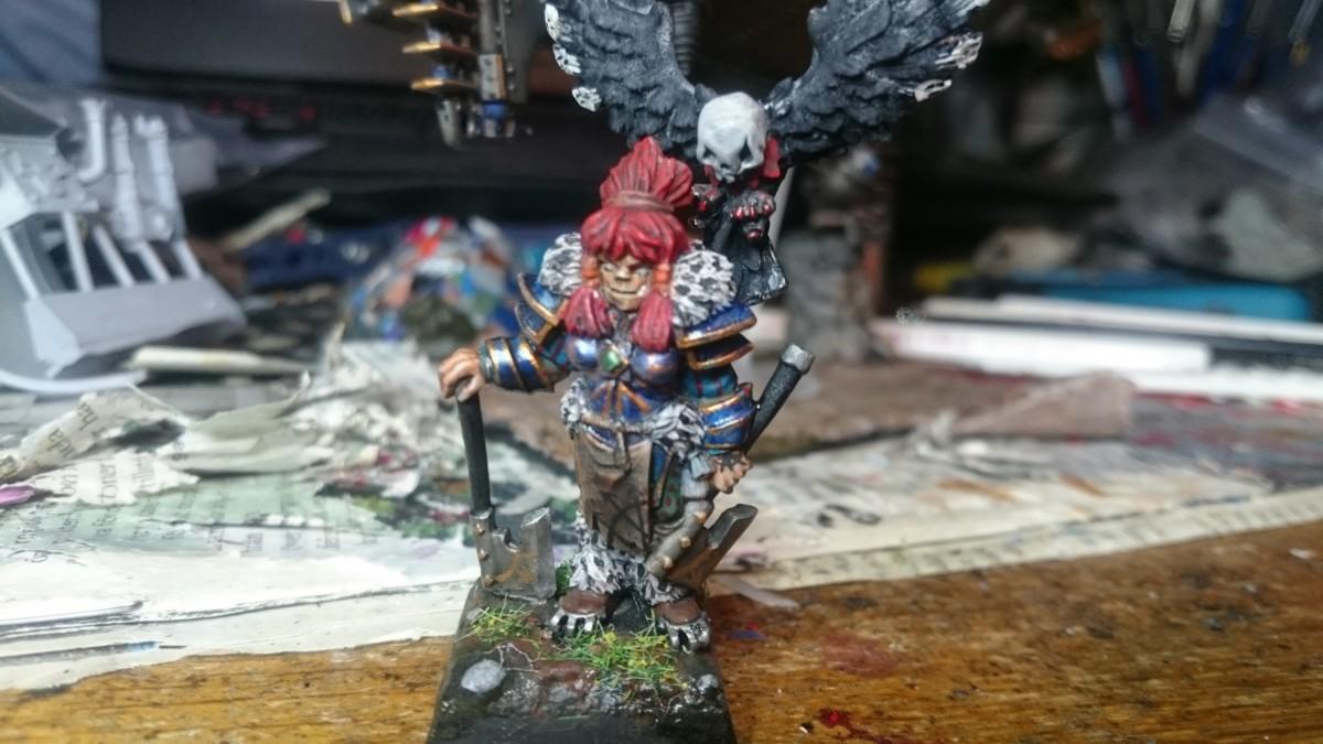 Community Painting Warrior