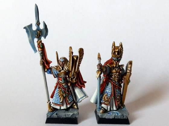High Warden of the Flame and Sword and board High Prince