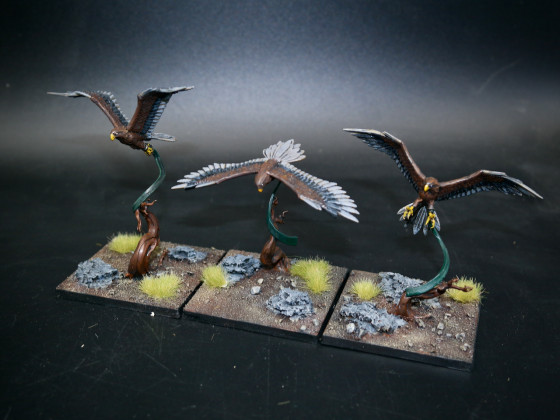 Sylvan Elves (SE) - Forest Eagle