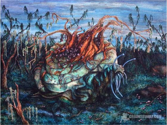 Toxic Daemon Snail by Nathan Johnson