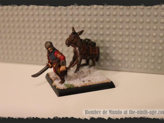 Heavy Infantry Battalion Unit Filler - Donkey
