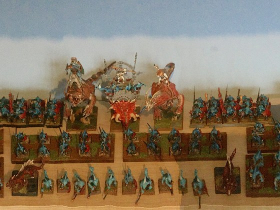 Saurian Ancients 'Cloud' Army For Durham UK Tournament 2016