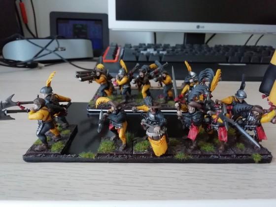 Heavy and Light Infantry 1st Batch