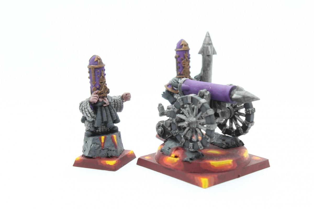 Infernal Dwarves - Rocket Battery (Gunnery)