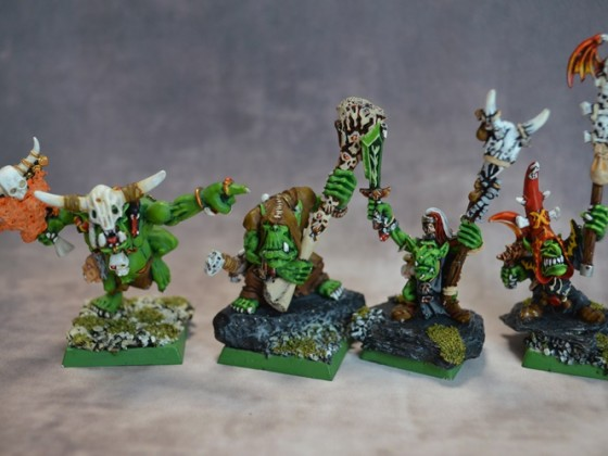 Goblins and Orcs Shamans / Chamanes Orcos y Goblins