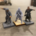 Caballero Miniatures dismounted knights
