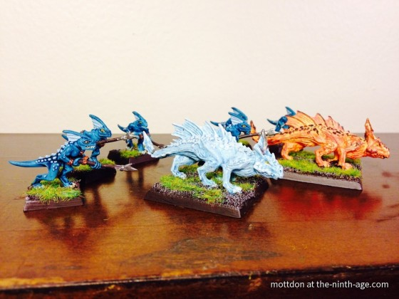 Salamanders (Fire and Ice)