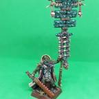 Saurian Veteran Battle Standard Bearer