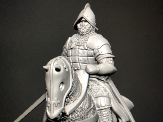 Marcos' questing Knight with Destrian/Spanish armor
