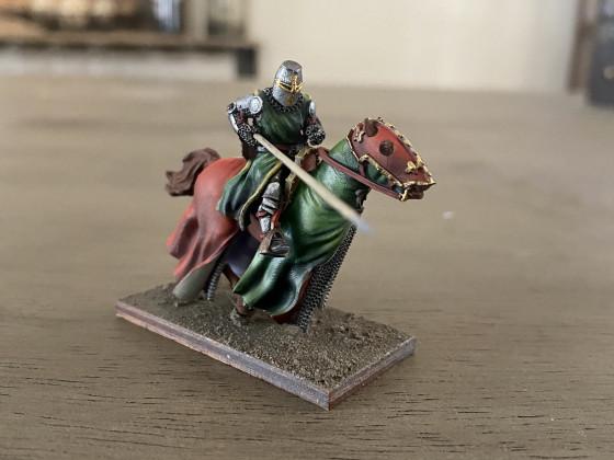 Raphael de Castellnou W.I.P. by Caballero Miniatures