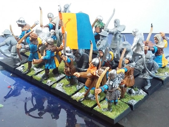 Peasant Bowmen (orange) - medley