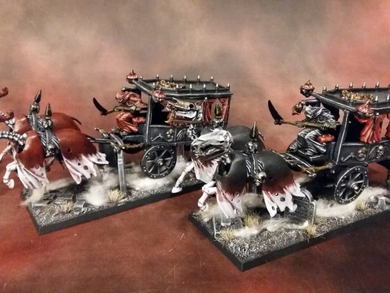 Pair of Dark Coaches