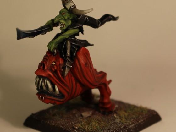 goblin on squig