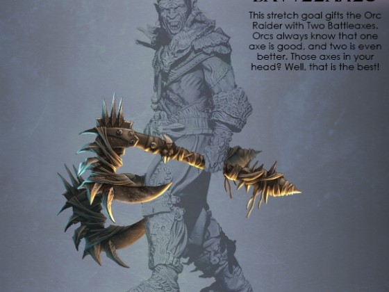 It's one of four additional parts for Orc Raider