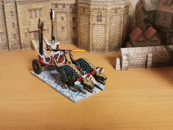 Dread Prince on Raptor Chariot