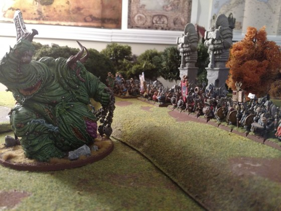 Dwarven Holds stand against The Father of Pestilence