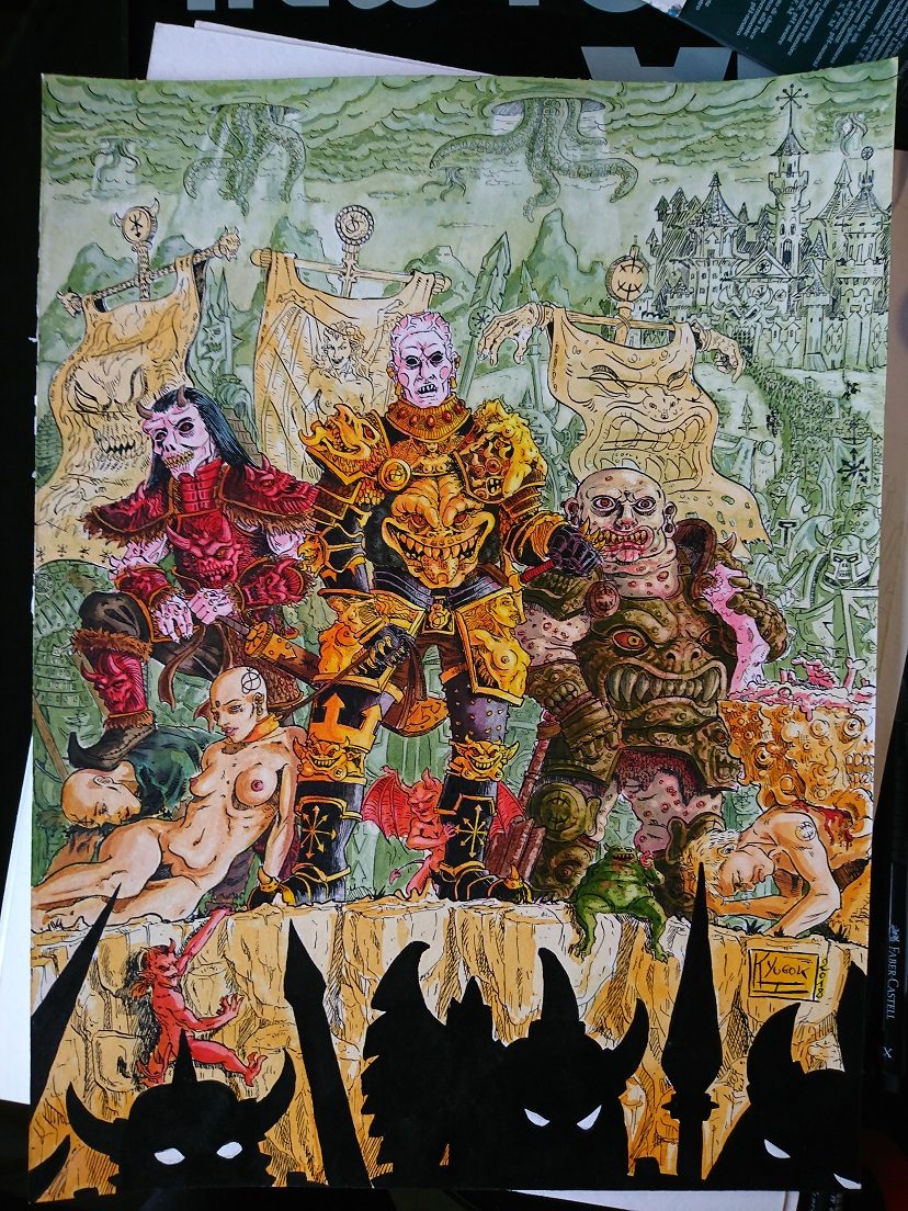Art Contest HKYUGOK color inks 2